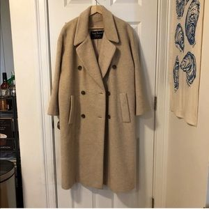 Anne Klein wool and mohair vintage peacoat